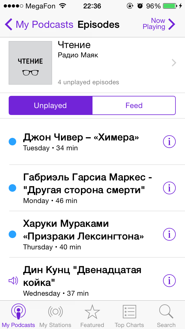 podcasts
